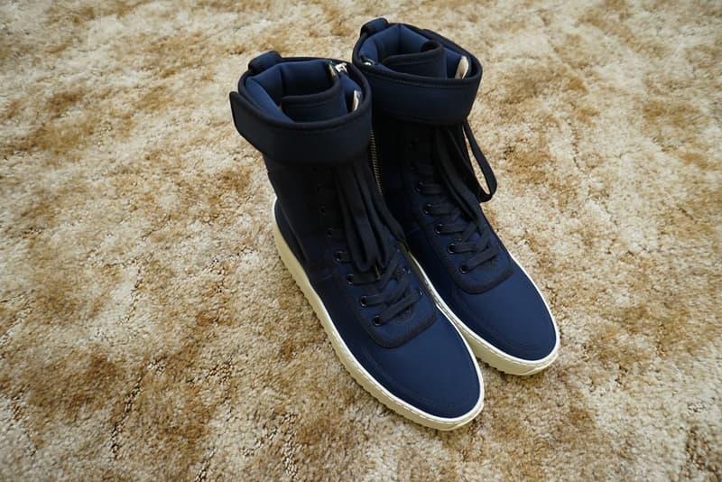c1374e80dd2b Fear of God KITH 424 Military Sneaker Release