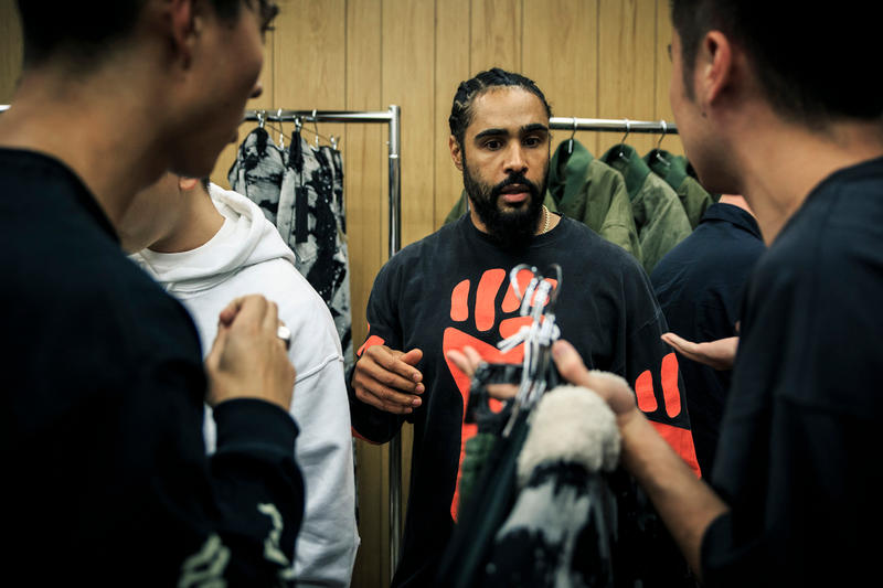 Jerry Lorenzo Fear of God Pop Up Shop Maxfield Los Angeles
