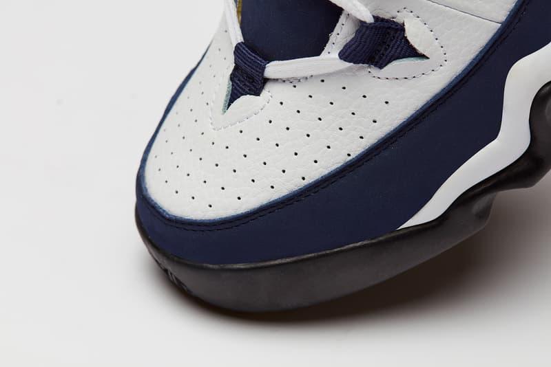 FILA 95 Grant Hill navy white high top sneaker