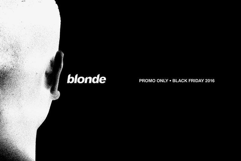 Frank Ocean Drops a Special Black Friday Promo for His Online Store Boys Dont Cry Blonde