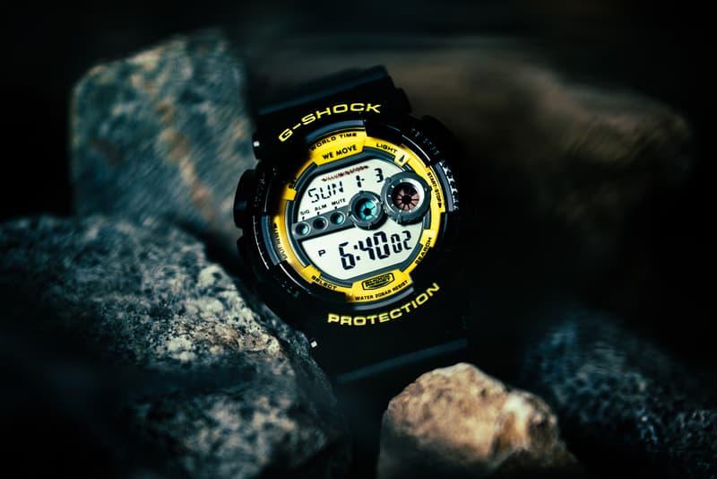 G-SHOCK Darker Than Wax GD-100 Collaboration