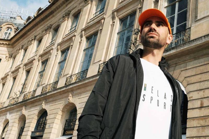 Helas France Streetwear Capsule Collection Skateboard Sportswear