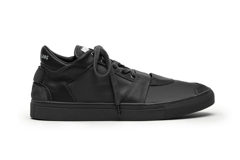 Helmut Lang New Low Top Sneaker italian nylon black