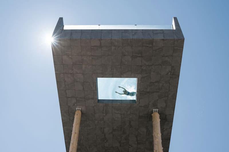 Hotel Hubertus 25 m Tall Glass Pool Hotels swimming pools italy