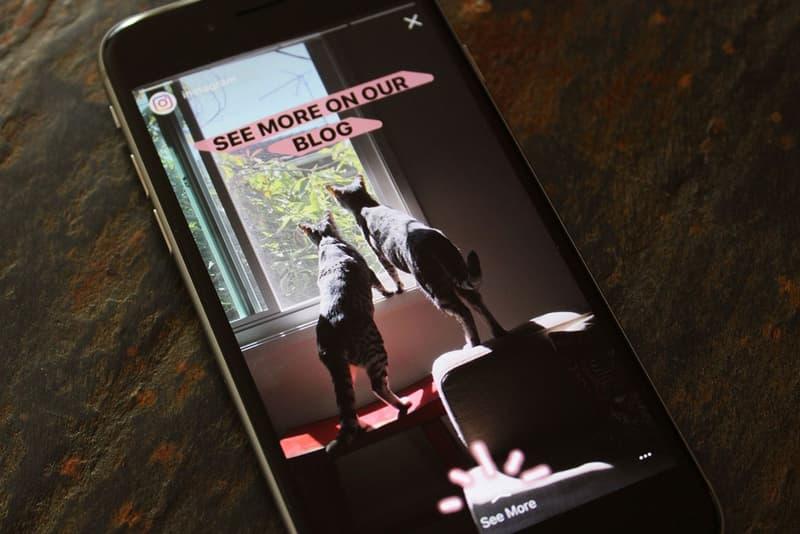 Instagram Stories Mentions Boomerang Links Update Version 9.7