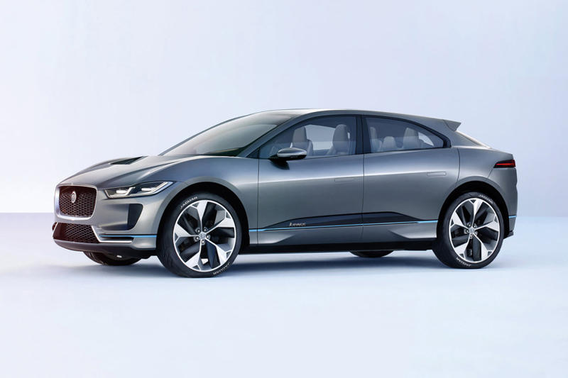 Jaguar Introduces The I Pace Its First Electric Suv Concept Hypebeast