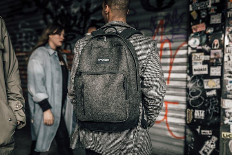 I Love Ugly Jansport backpack 2016 axiom ironsight platform bag felt grey