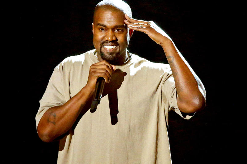 Kanye West Gives Speech On Stage Images