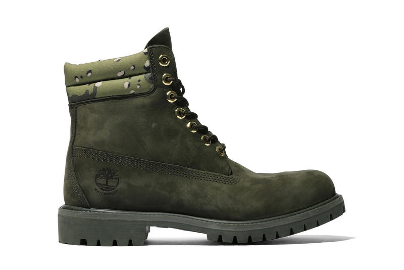 Kinetics Timberland 6 Inch Boot Olive Camo