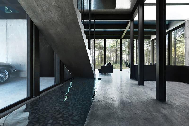 LAAV Architects Villa Clessidra Concept Swimming Pool