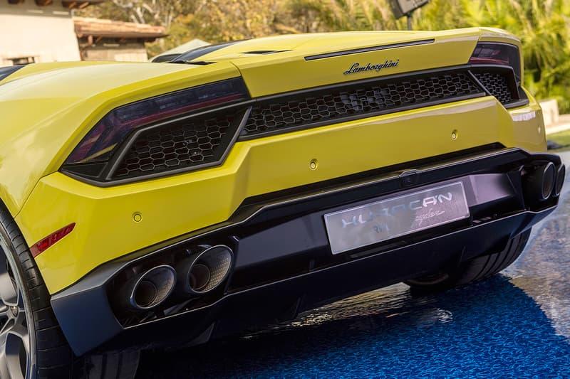 Lamborghini Huracán LP580-2 Spyder Yellow colorway Images