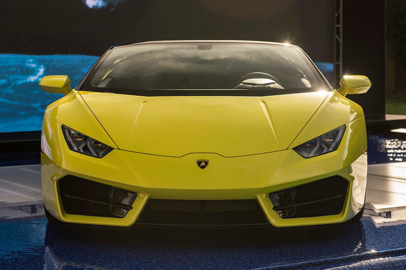 Lamborghini Huracán LP580-2 Spyder Yellow colorway Images