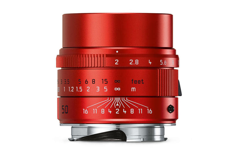 Leica Red Camera Lens Limited Edition