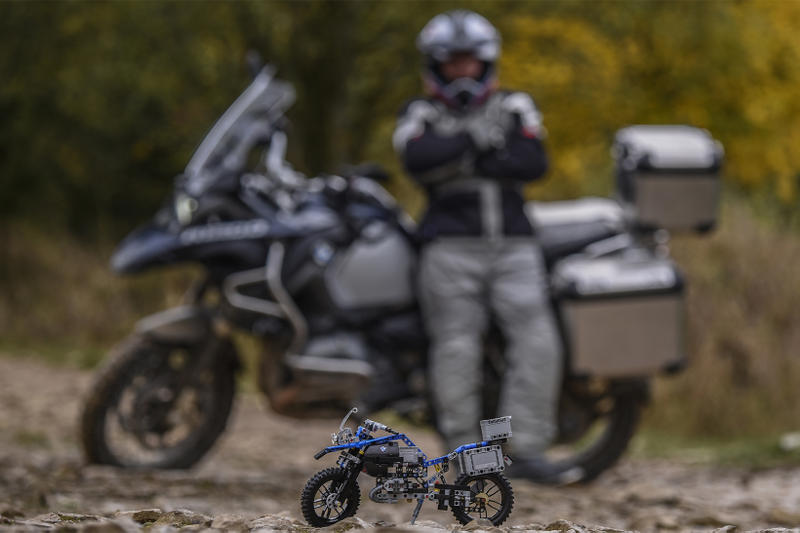 LEGO BMW R 1200 GS Adventure Motorcycle