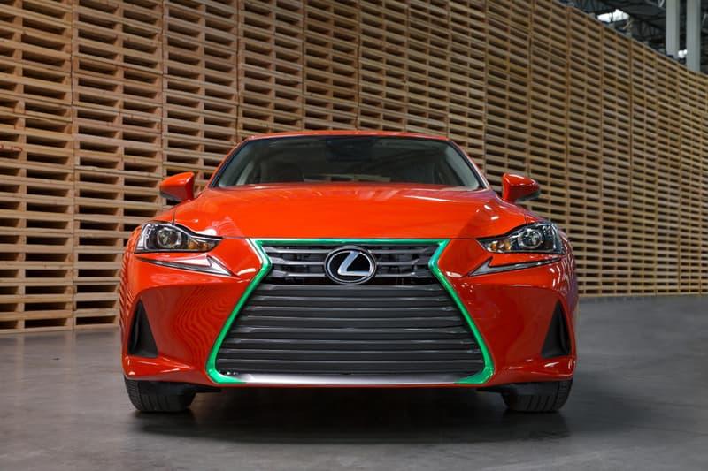 Lexus Sriracha IS red green