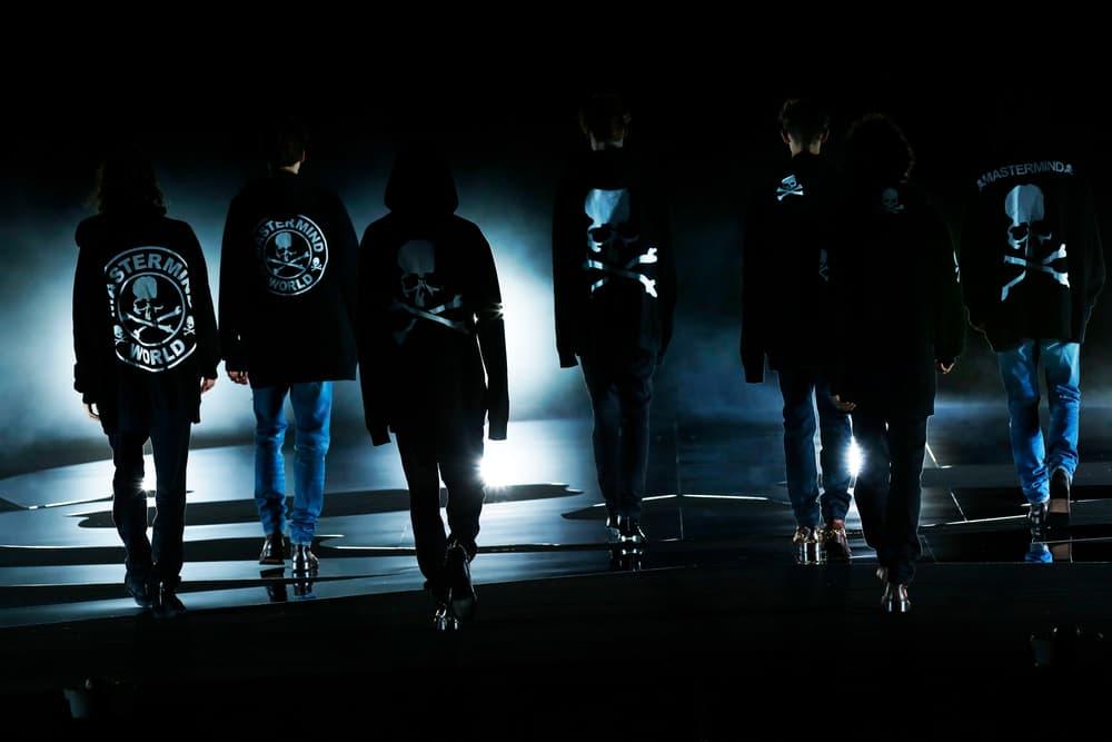 mastermind JAPAN hoodies tees black crossbones skulls