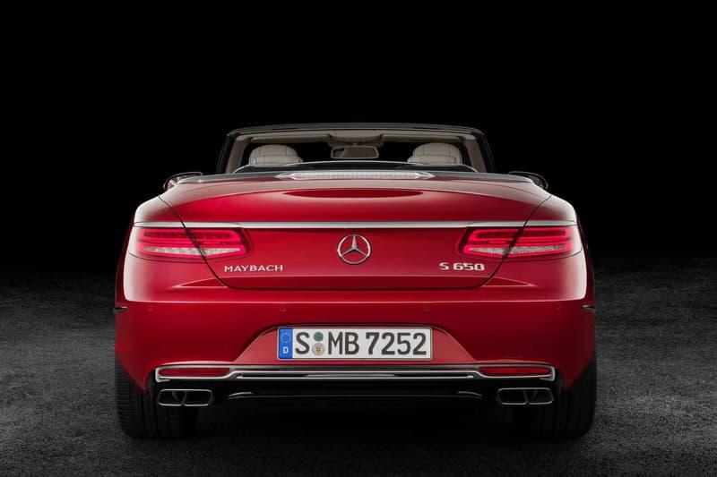 Mercedes Maybach S650 Cabriolet