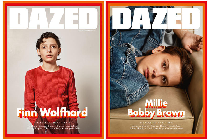 Millie Bobby Brown & Finn Wolfhard 'DAZED' Cover