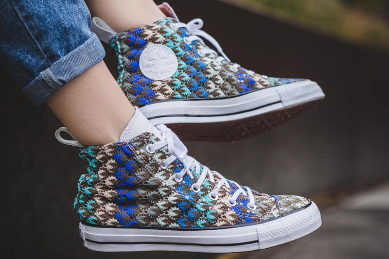 Converse Chuck Taylor Missoni All Star Multicolor Crochet