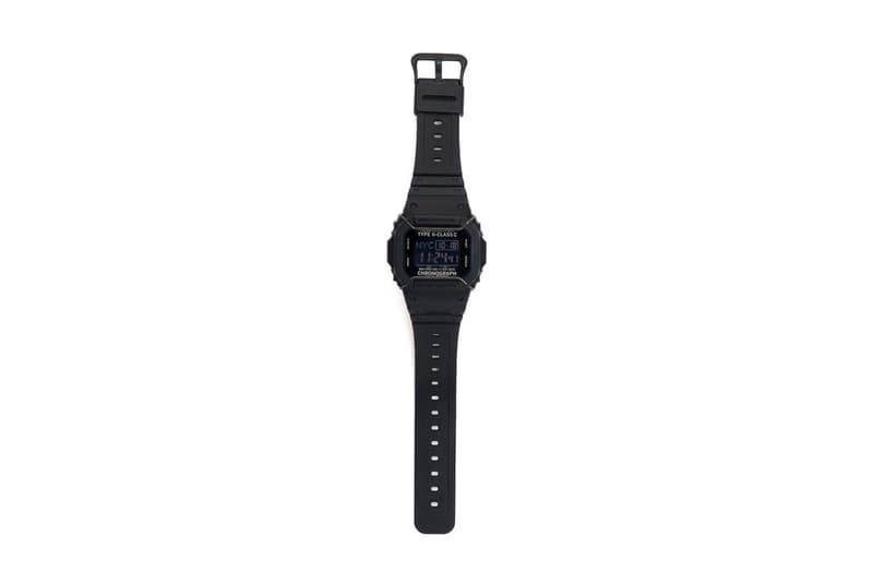 N HOOLYWOOD Casio G SHOCK DW 5600 Black Watch