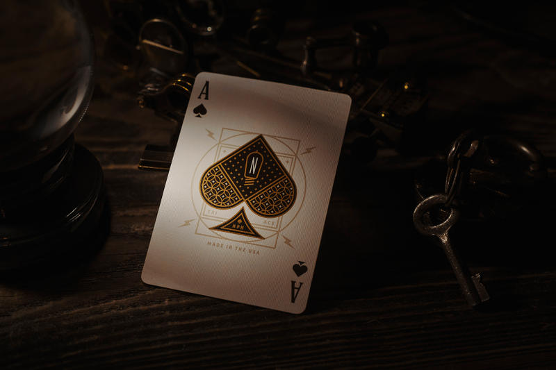 Neil Patrick Harris Theory Eleven Gilded Playing Cards