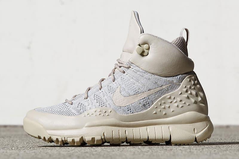 Nike ACG Lupinek Flyknit Sneakerboot tan