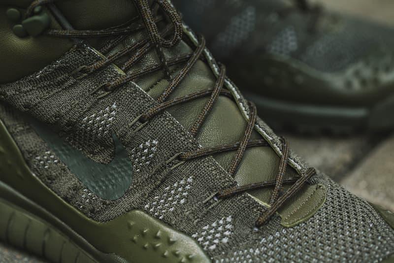 Nike ACG Lupinek Flyknit Triple Black Cargo Khaki