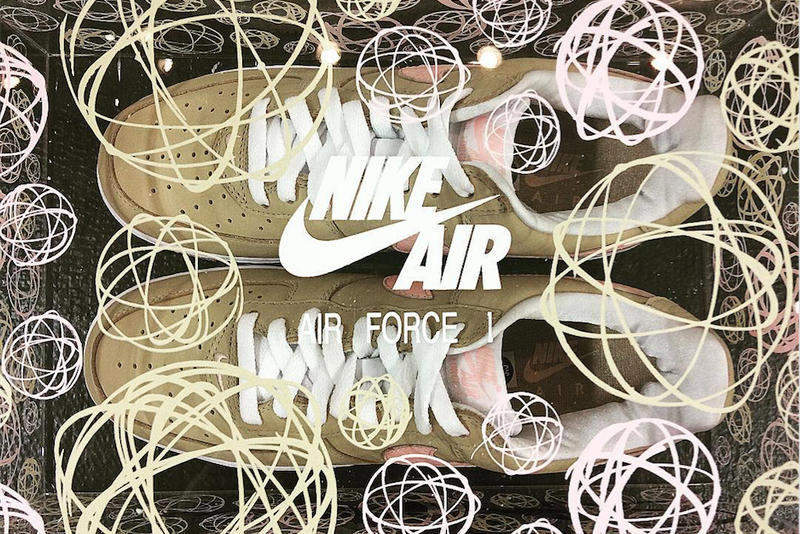 Nike Air Force 1 Linen KITH Futura Collaboration Ronnie Fieg
