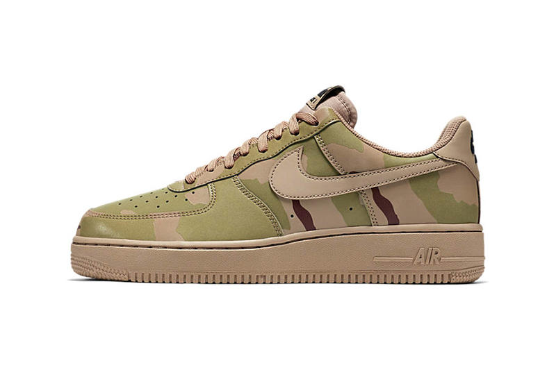 d4a117e90059f Nike Air Force 1 Low Reflective Desert Camo | HYPEBEAST
