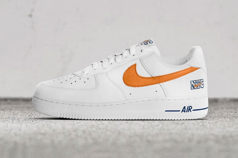 Nike Air Force 1 NYC White Blue Orange