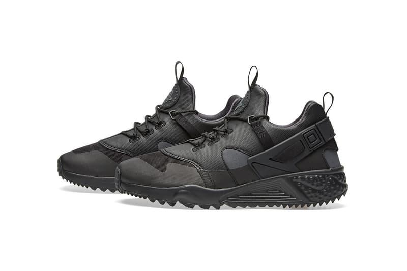 Nike Air Huarache Utility Premium Black Anthracite