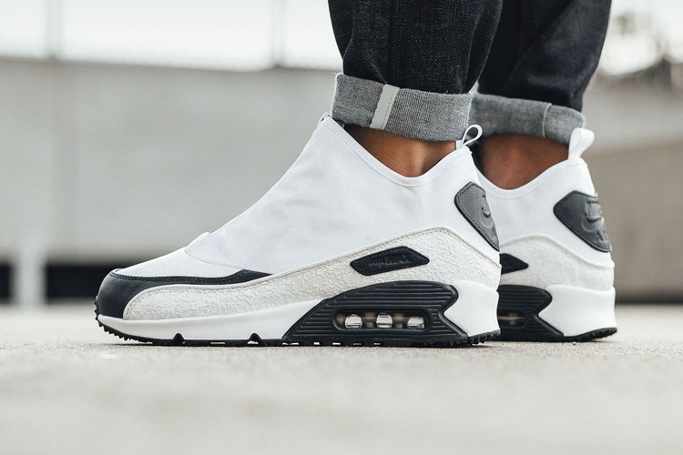sale retailer 170ff bab5b The Nike Air Max 90 Utility Is Now Available With a Weather-Proof White  Upper