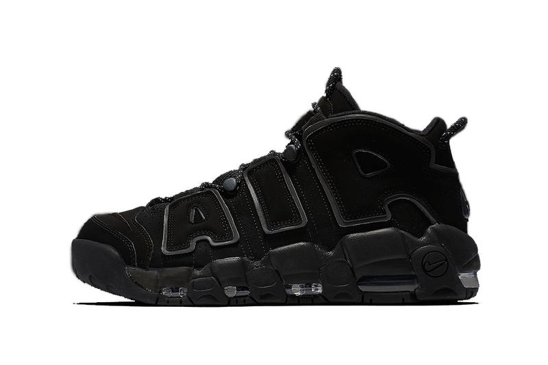 Nike Air More Uptempo Reflective Black