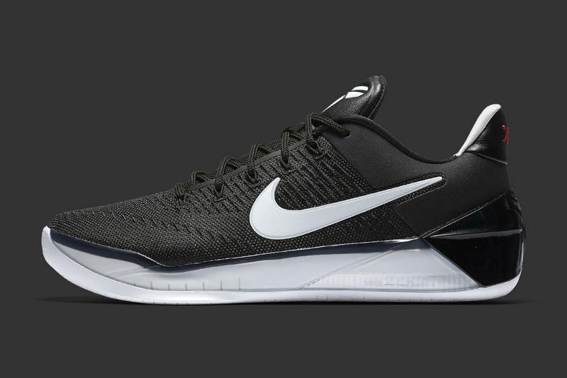 Nike Kobe Bryant A D In Black And White Basketball Sneaker