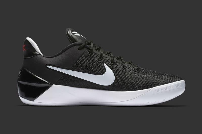 4a79fd7e584 Nike Kobe Bryant A.D. in Black and White Basketball Sneaker