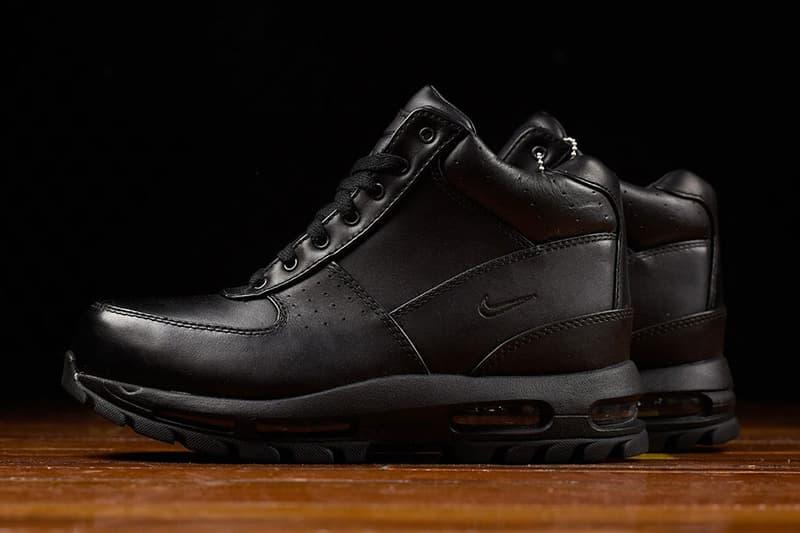 Nike Air Max Goadome Sneaker Boot Black White Winter