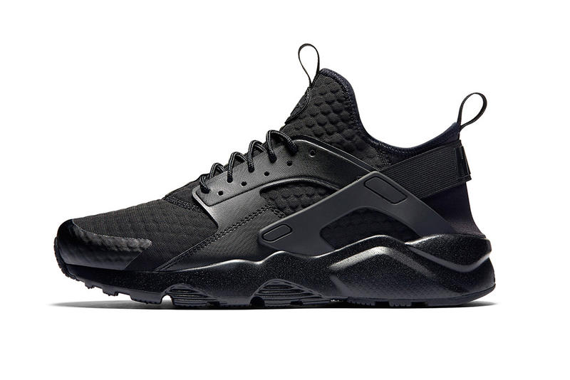 "Nike Huarache Ultra Premium SE Recieves a ""Triple White"" & ""Triple Black"" Makeover"