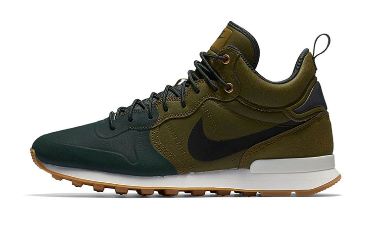 online store d41f5 7a417 Nike Channels Fall for Its Latest Internationalist Mid Utility Release