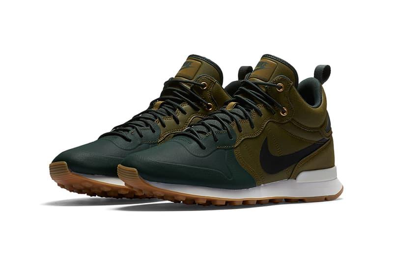 Nike Internationalist Mid Utility Olive Flak Grove Green