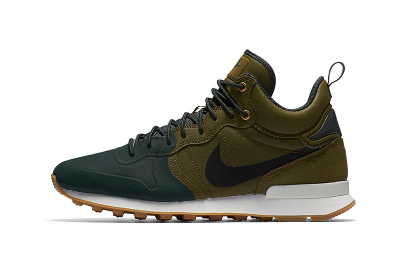 new products 19be7 8f90c Nike Internationalist Mid Utility Olive Flak Grove Green