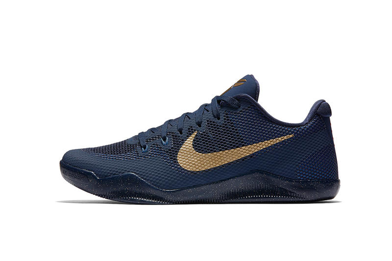 classic fit cf0e0 96254 Nike Kobe 11 EM Deep Royal Blue Metallic Gold