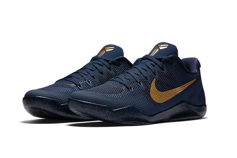 Nike Kobe 11 EM Deep Royal Blue Metallic Gold
