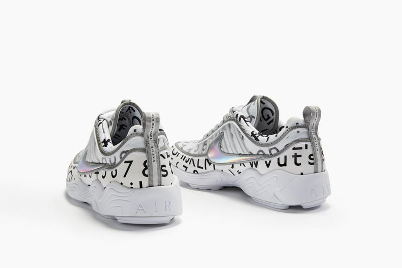 NikeLab x Roundel Air Zoom Spiridon White Navy Images