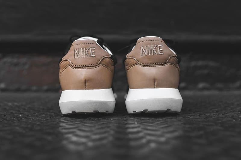 Nike Roshe LD-1000 Black Veg Tan leather white phylon midsole