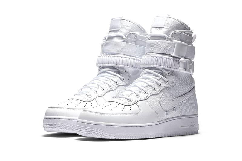 9214353db6c961 Nike SF Air Force 1 Triple White Asia Release