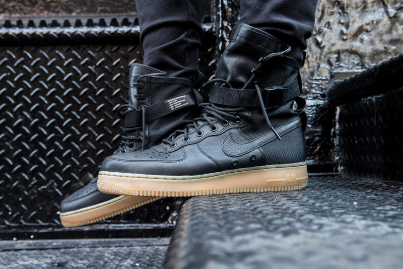 release date: 9868e 6f34d Nike Air Force 1 Special Field On Feet