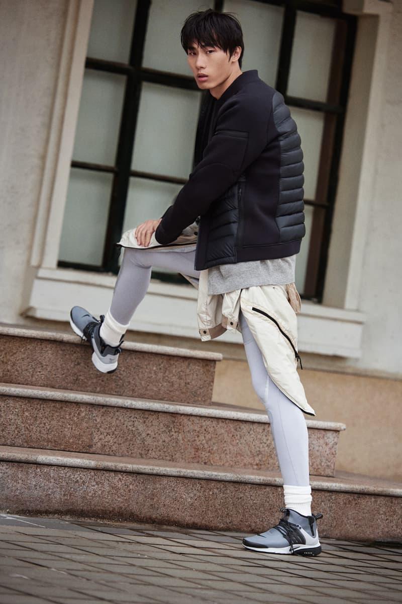 Nike Sportswear and SneakerBoots Holiday 2016 Editorial Tech Fleece Aeroloft
