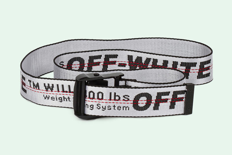 OFF WHITE White Colorway Industrial Belt