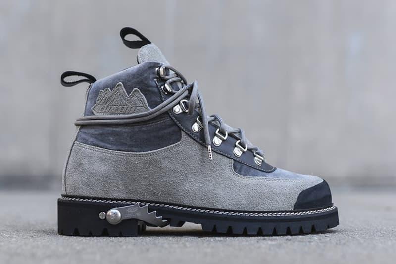 OFF WHITE VIRGIL ABLOH Cordura Hiking Boots 2016 Fall Winter