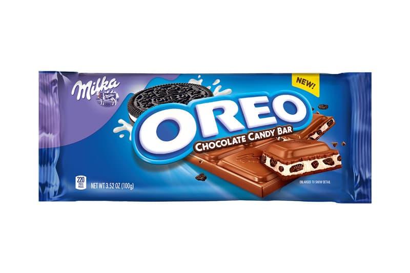 Oreo Cookie Chocolate Candy Bars Milka